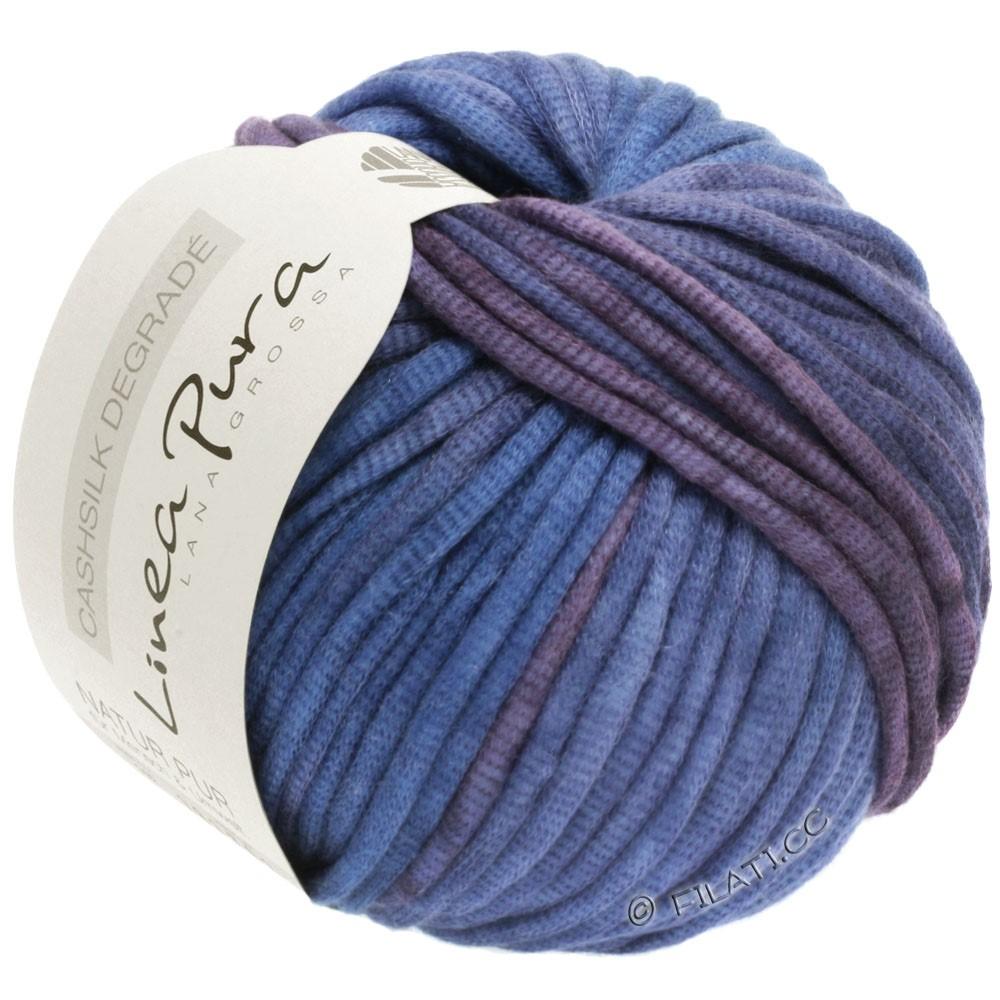 Lana Grossa CASHSILK Degradé (Linea Pura) | 101-prune/bleu comme violettes/lavande