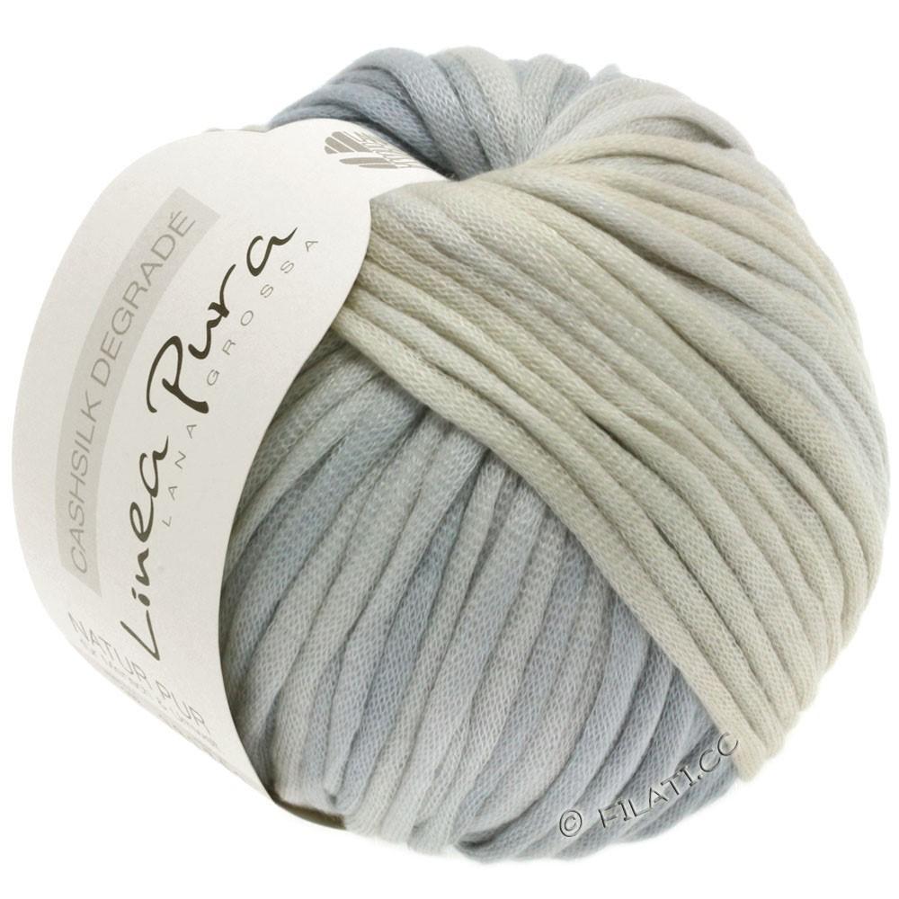 Lana Grossa CASHSILK Degradé (Linea Pura) | 107-nature/grège/gris argent/gris clair