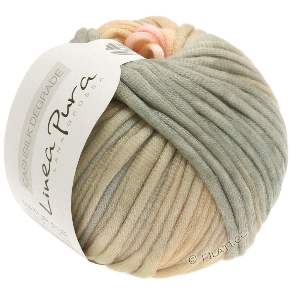 Lana Grossa CASHSILK Degradé (Linea Pura) | 109-rosé/pêche/beige/gris vert