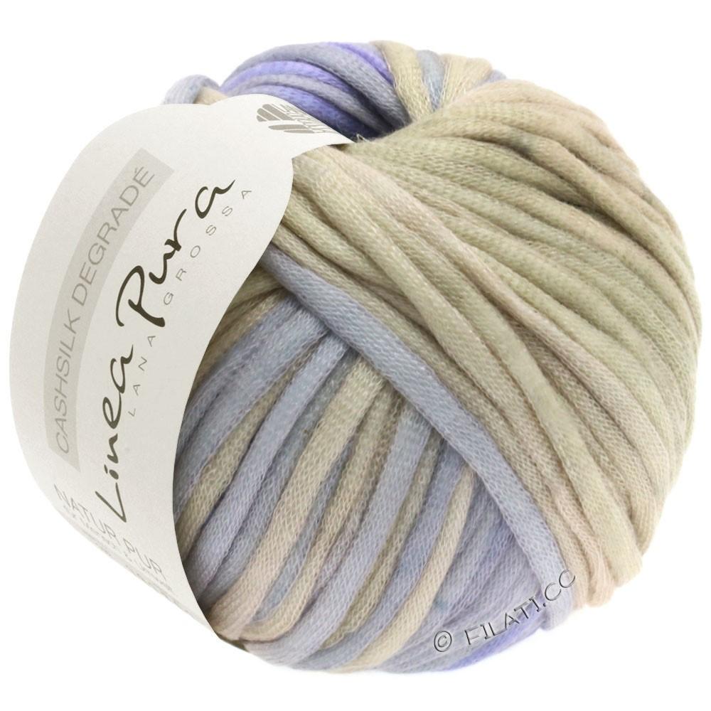 Lana Grossa CASHSILK Degradé (Linea Pura) | 110-grège/gris/bleu clair/bleu comme violettes