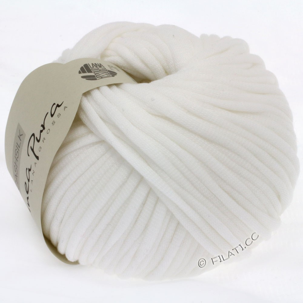 Lana Grossa CASHSILK (Linea Pura) | 07-blanc
