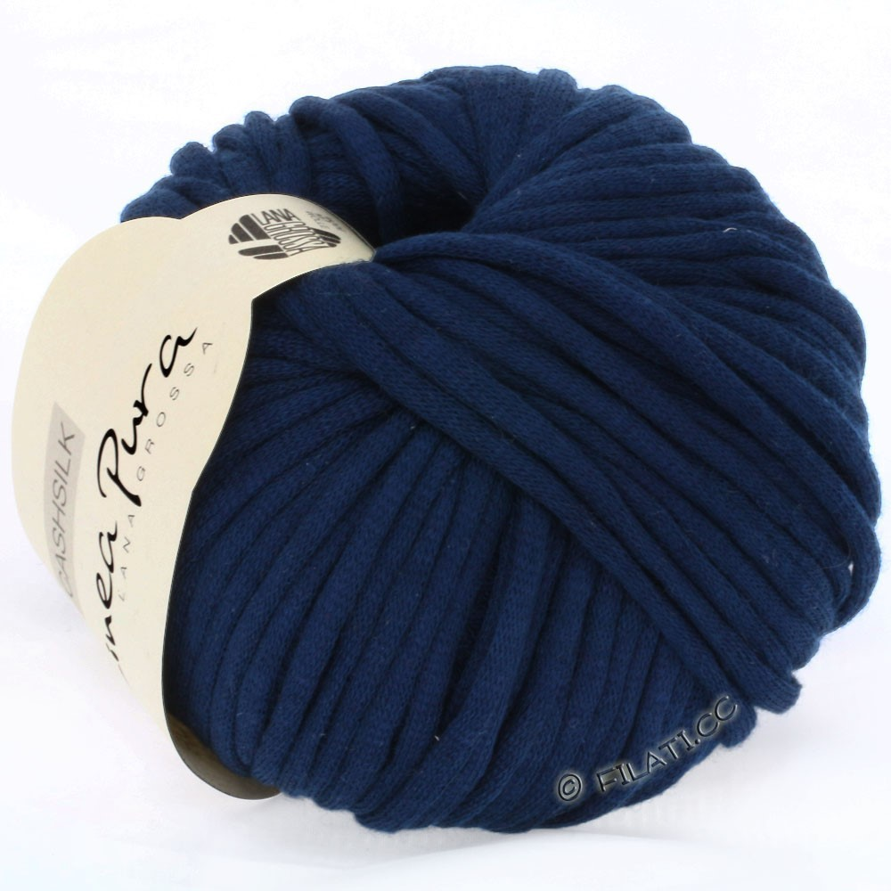 Lana Grossa CASHSILK (Linea Pura) | 14-bleu nuit