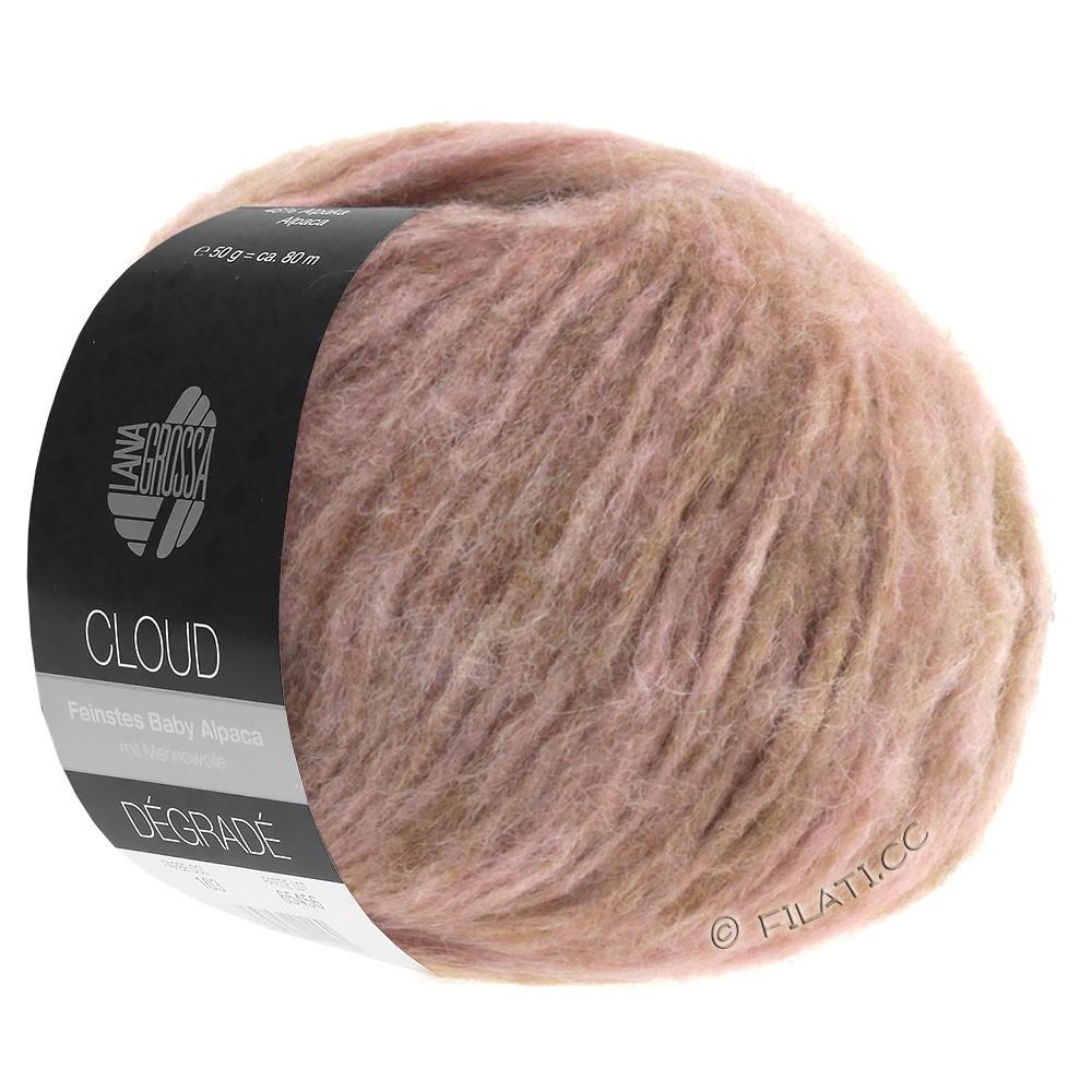 Lana Grossa CLOUD Degradé | 101-bois de rose/vieux rose