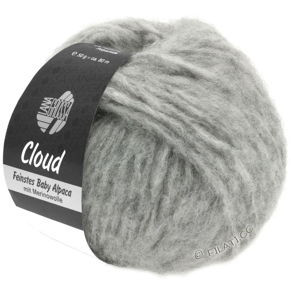 Lana Grossa CLOUD | 06-gris clair
