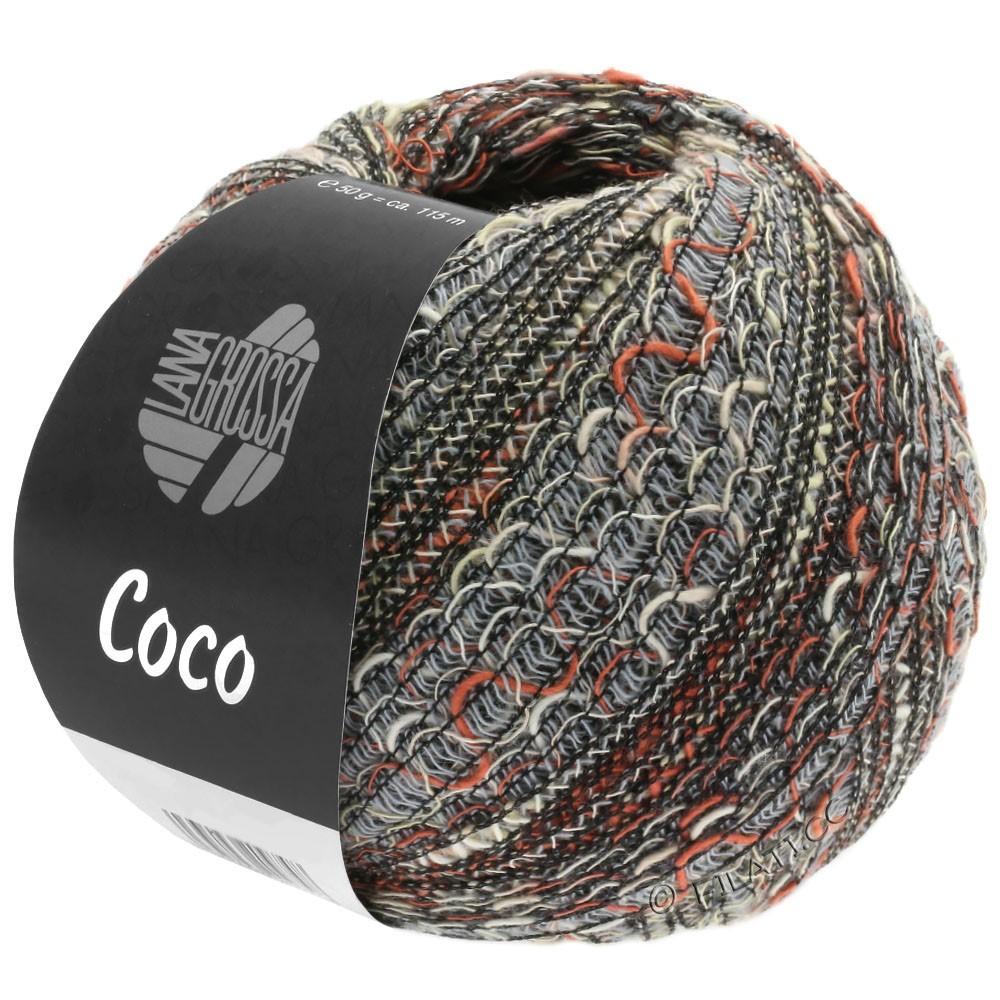 Lana Grossa COCO | 06-gris clair/nature/terre cuite