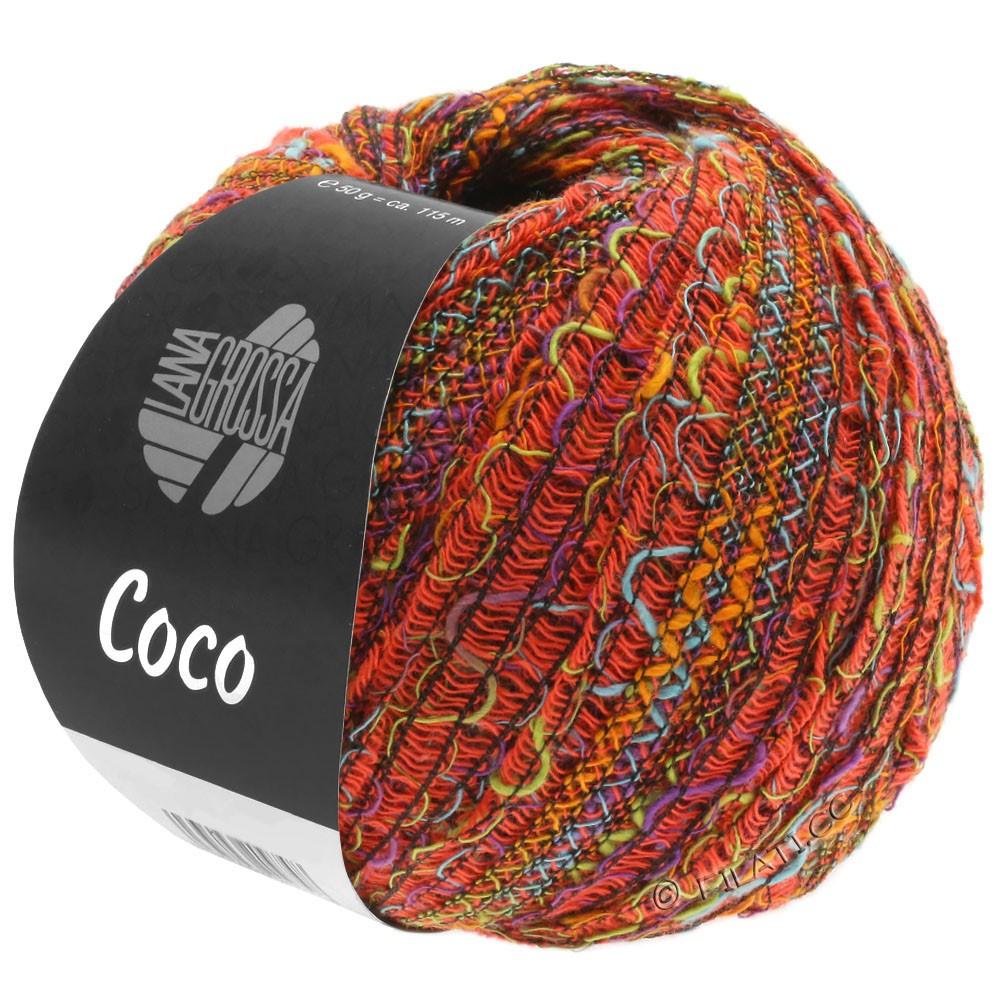 Lana Grossa COCO | 11-orange/turquoise/pistache/violet