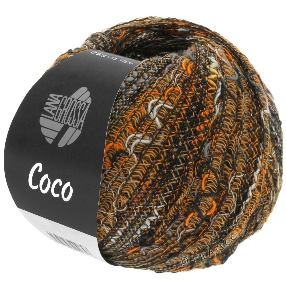 Lana Grossa COCO | 15-orange/gris/noir