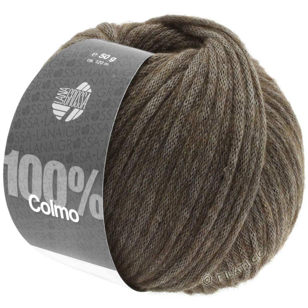 Lana Grossa COLMO   06-brun gris