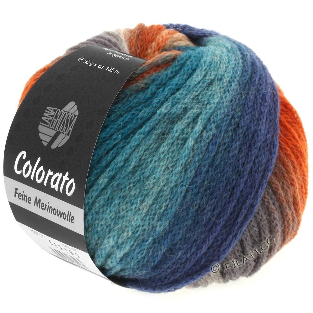 Lana Grossa COLORATO | 002-bleu clair/jean/bleu gris/gris clair/gris foncé
