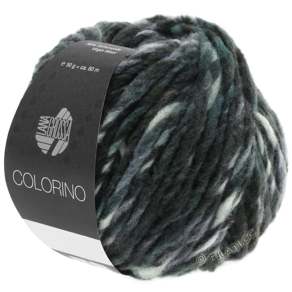 Lana Grossa COLORINO | 11-anthracite/gris vert/galet/pétrole foncé