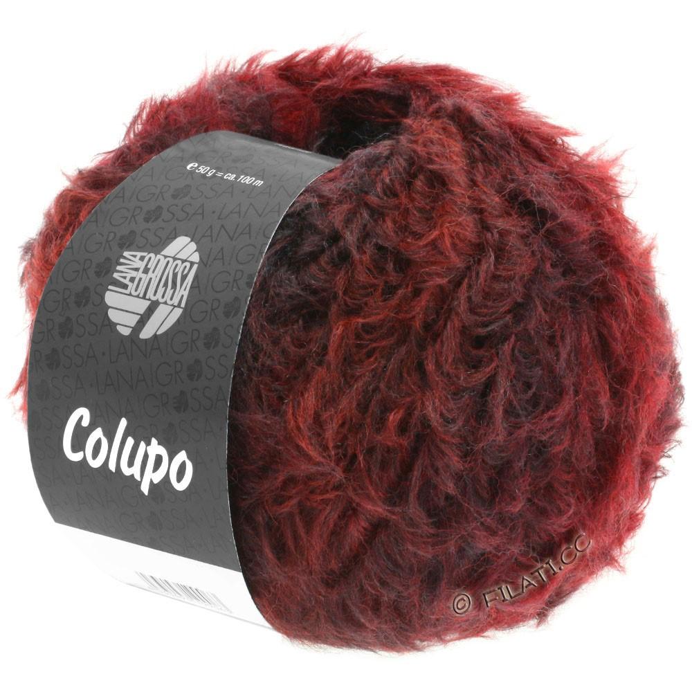 Lana Grossa COLUPO | 01-brun rouge/rouge vin