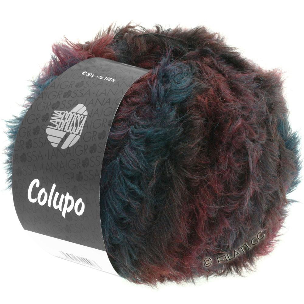 Lana Grossa COLUPO | 02-bourgogne/anthracite