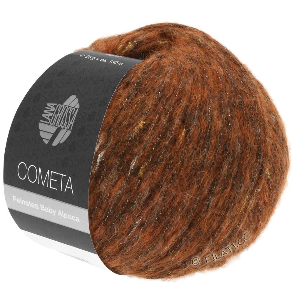 Lana Grossa COMETA | 004-cuivre/doré/argent