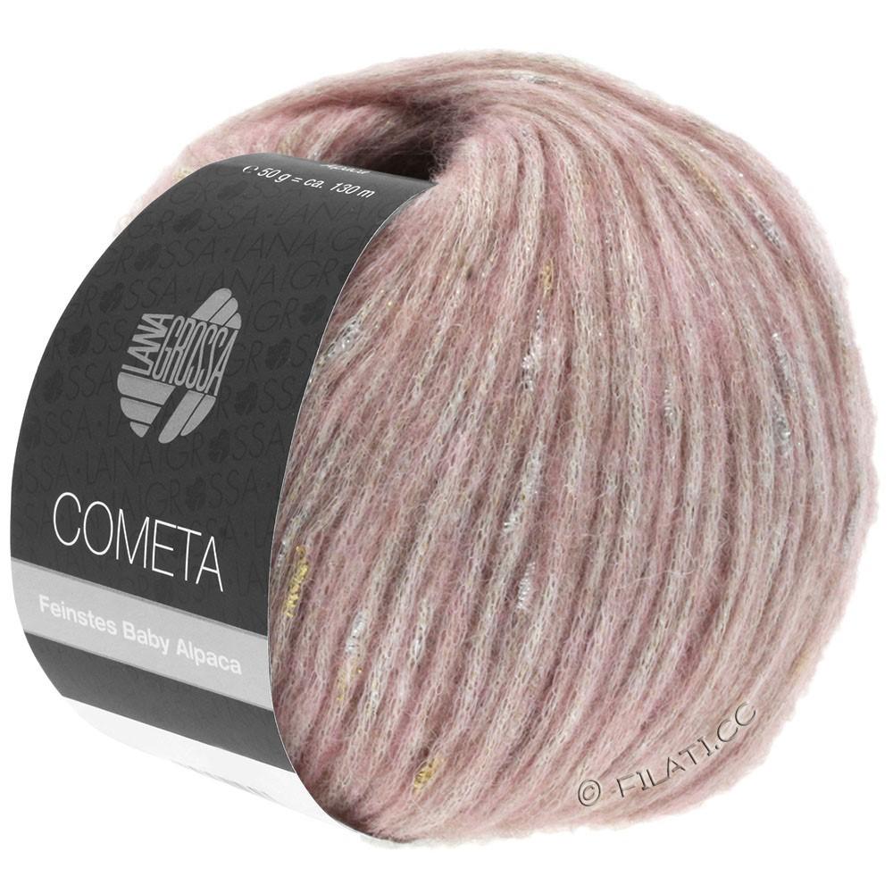Lana Grossa COMETA | 007-rose/doré/argent