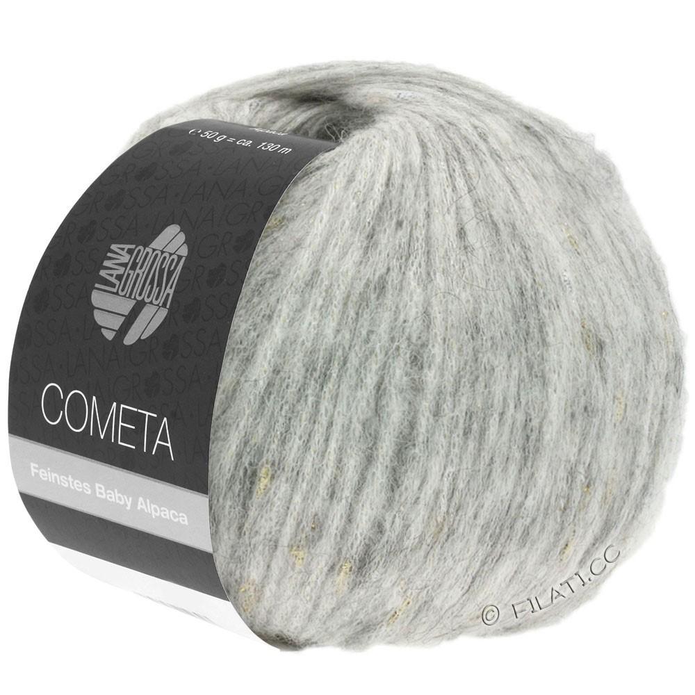 Lana Grossa COMETA | 008-gris argent/doré/argent