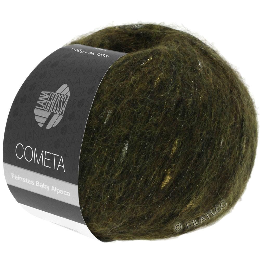Lana Grossa COMETA | 013-kaki/doré/argent