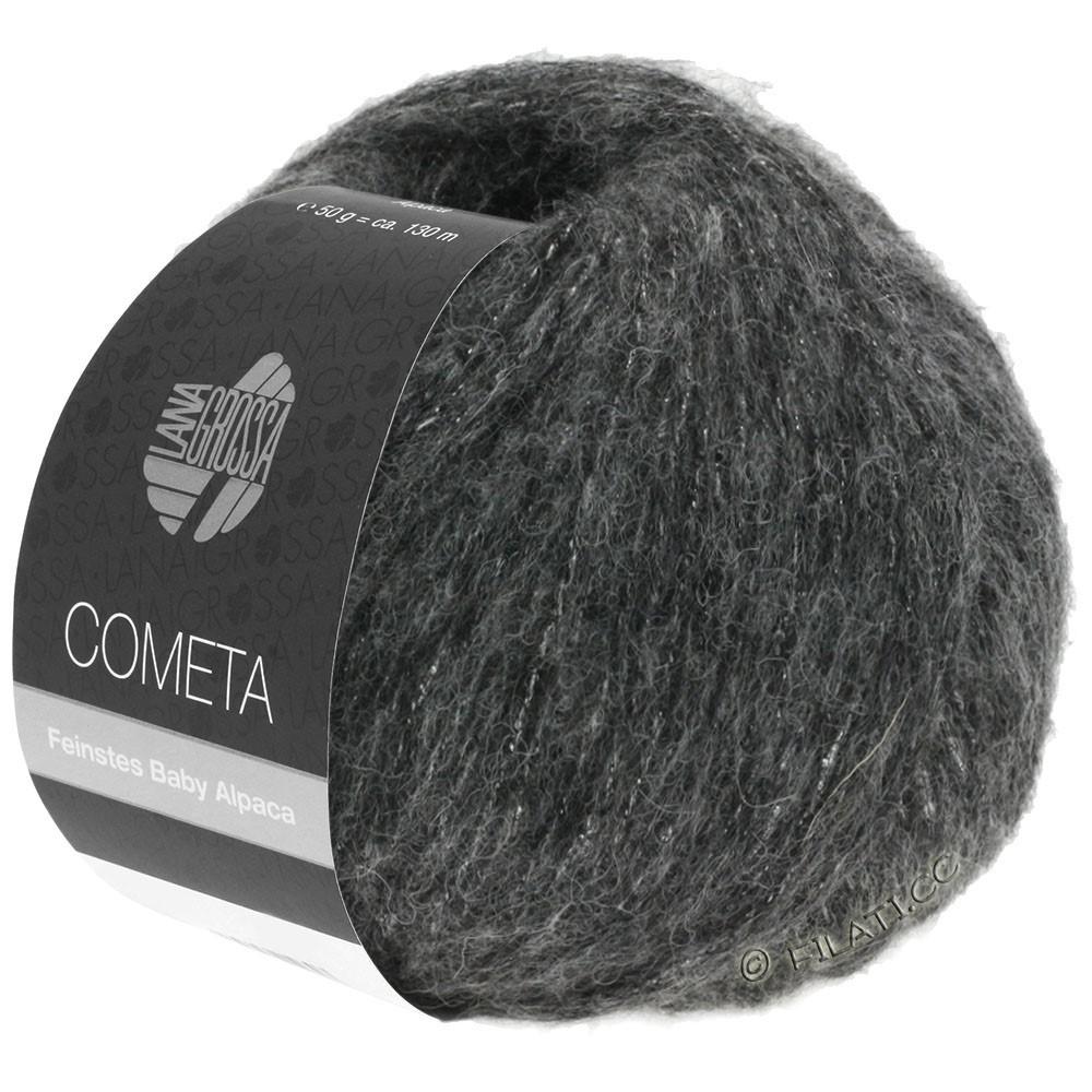 Lana Grossa COMETA | 014-gris foncé/argent