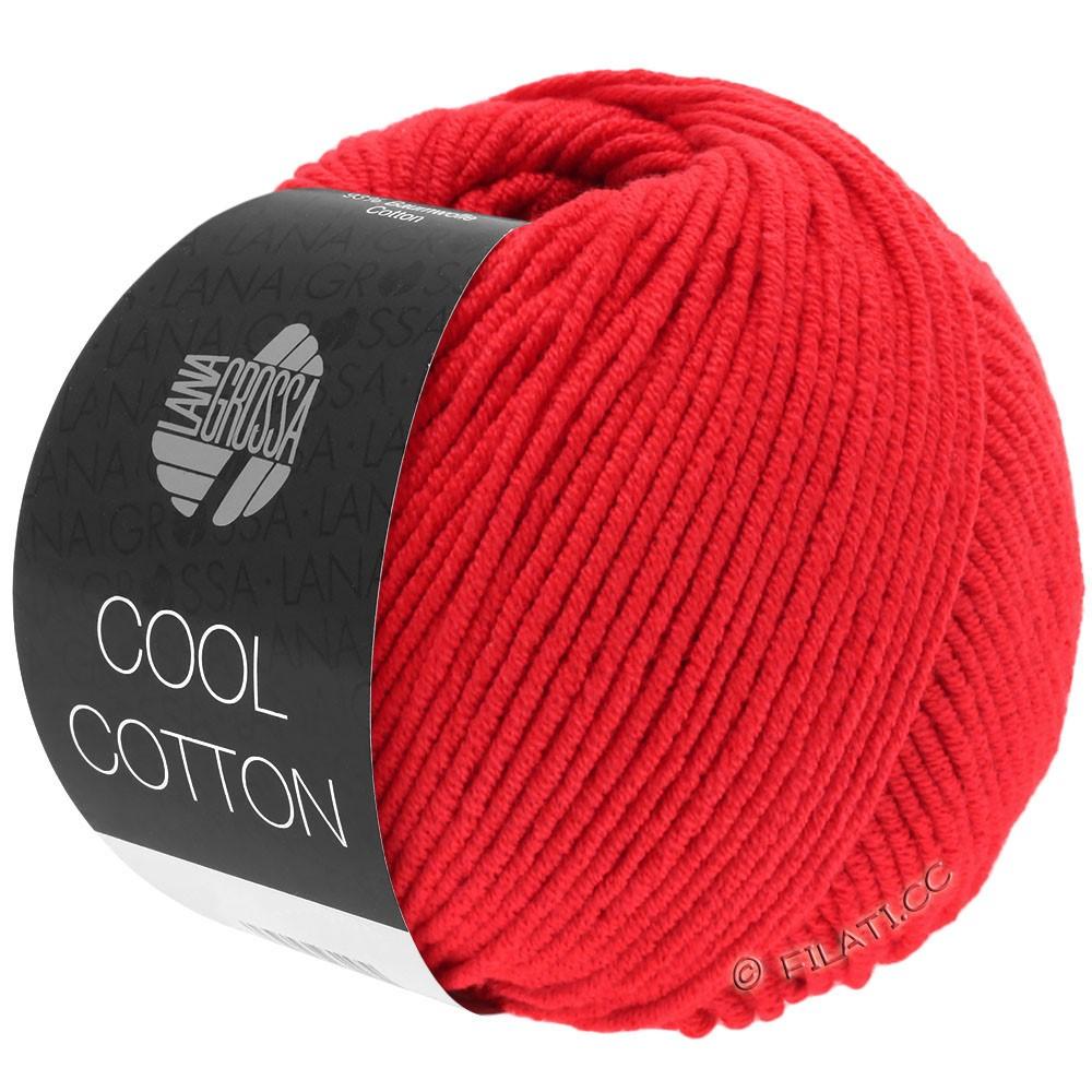 Lana Grossa COOL COTTON | 08-rouge de sécurité