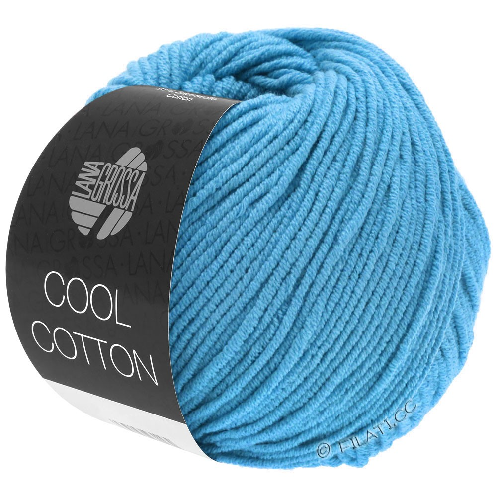 Lana Grossa COOL COTTON | 15-bleu azur