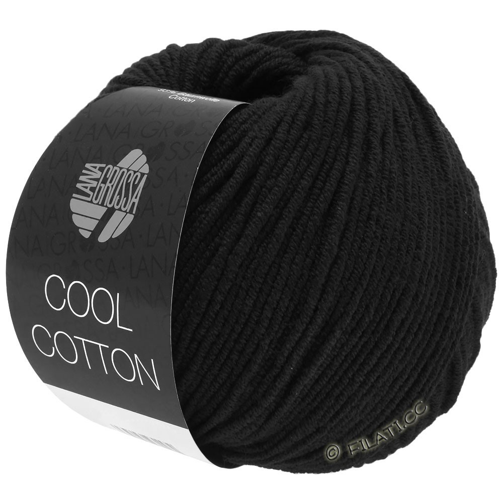 Lana Grossa COOL COTTON | 26-noir