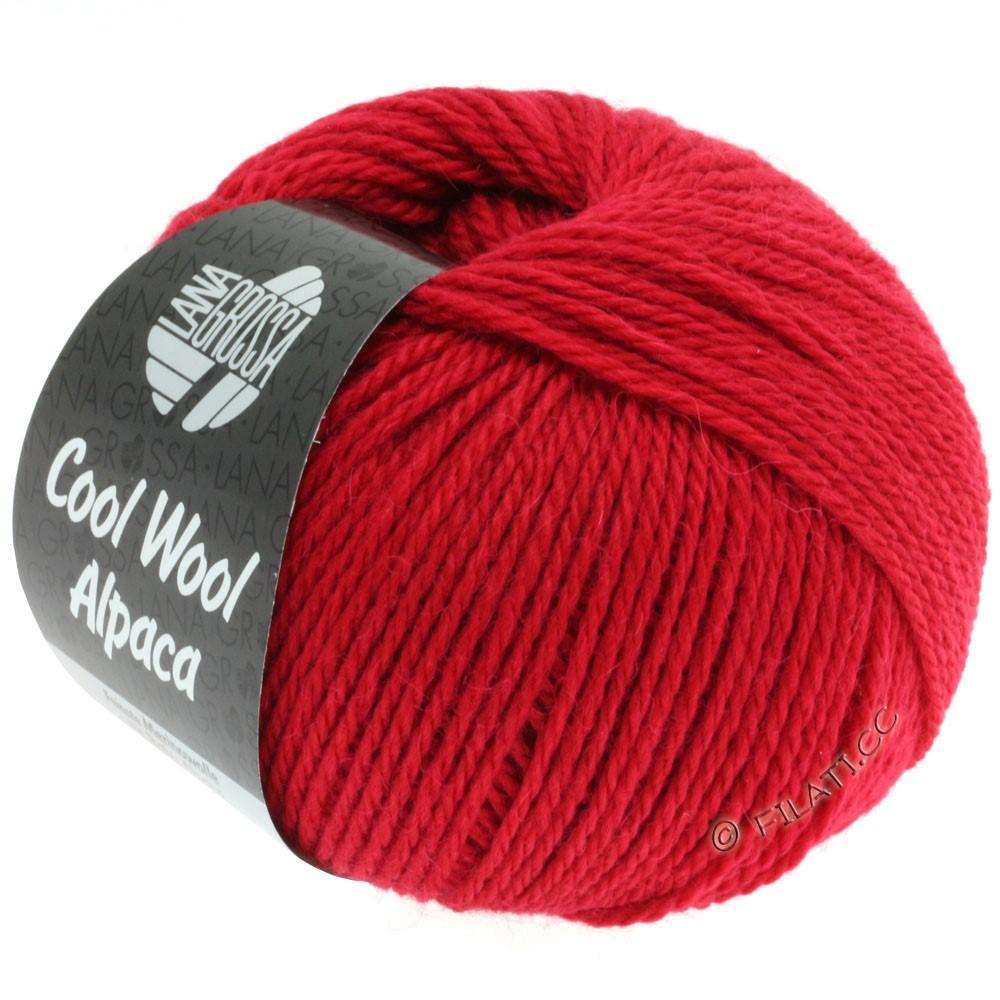Lana Grossa COOL WOOL Alpaca   04-rouge