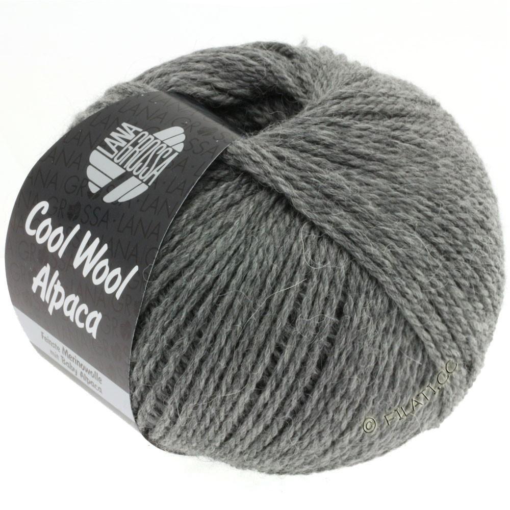 Lana Grossa COOL WOOL Alpaca | 06-gris foncé