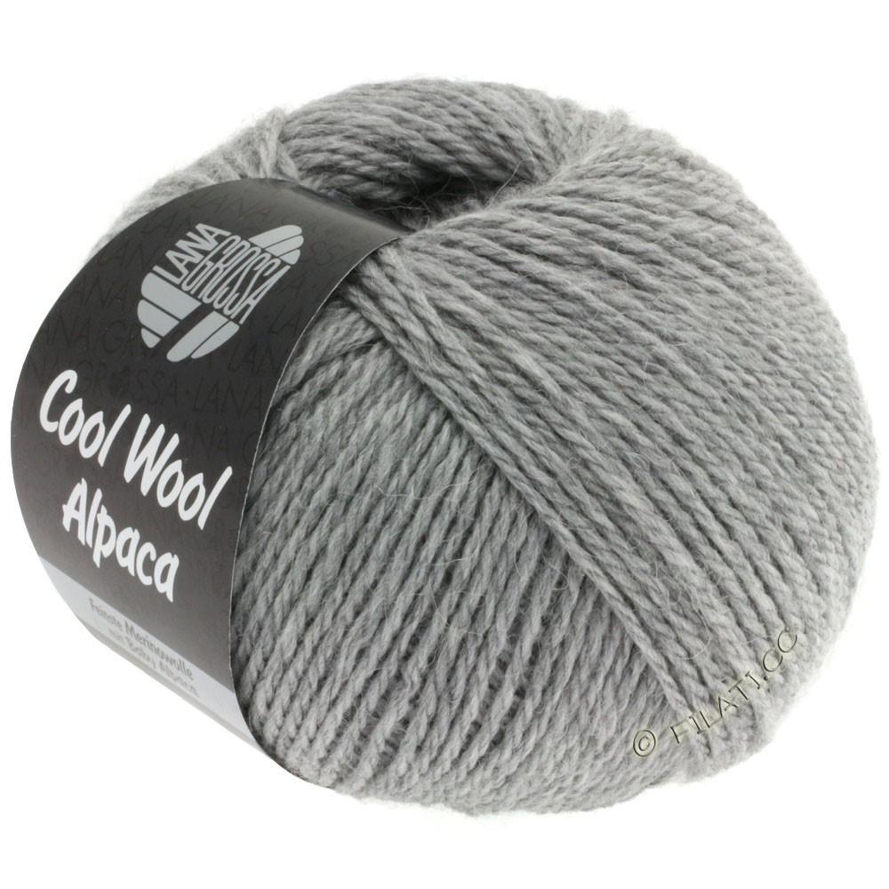 Lana Grossa COOL WOOL Alpaca | 07-gris clair