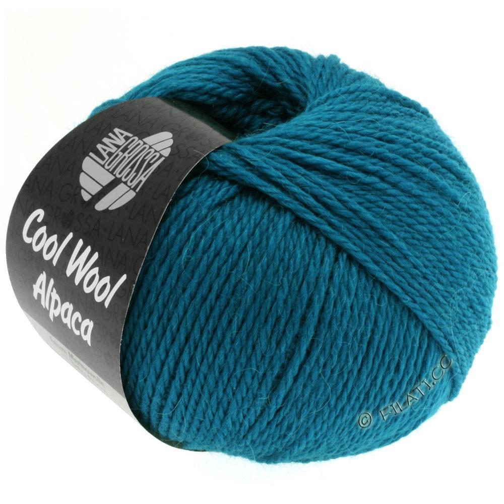 Lana Grossa COOL WOOL Alpaca | 09-bleu pétrole
