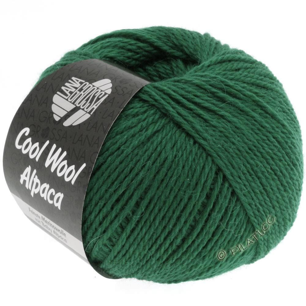 Lana Grossa COOL WOOL Alpaca | 16-vert bouteille
