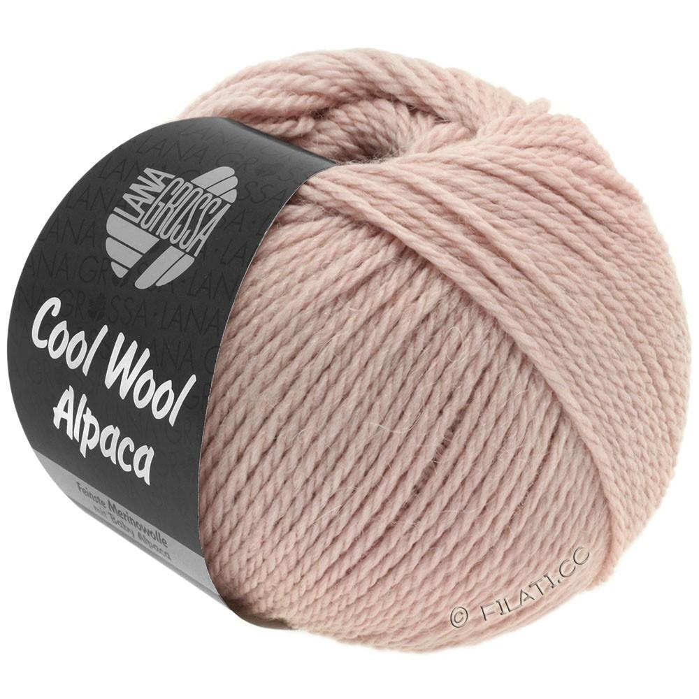 Lana Grossa COOL WOOL Alpaca | 26-rose poudré
