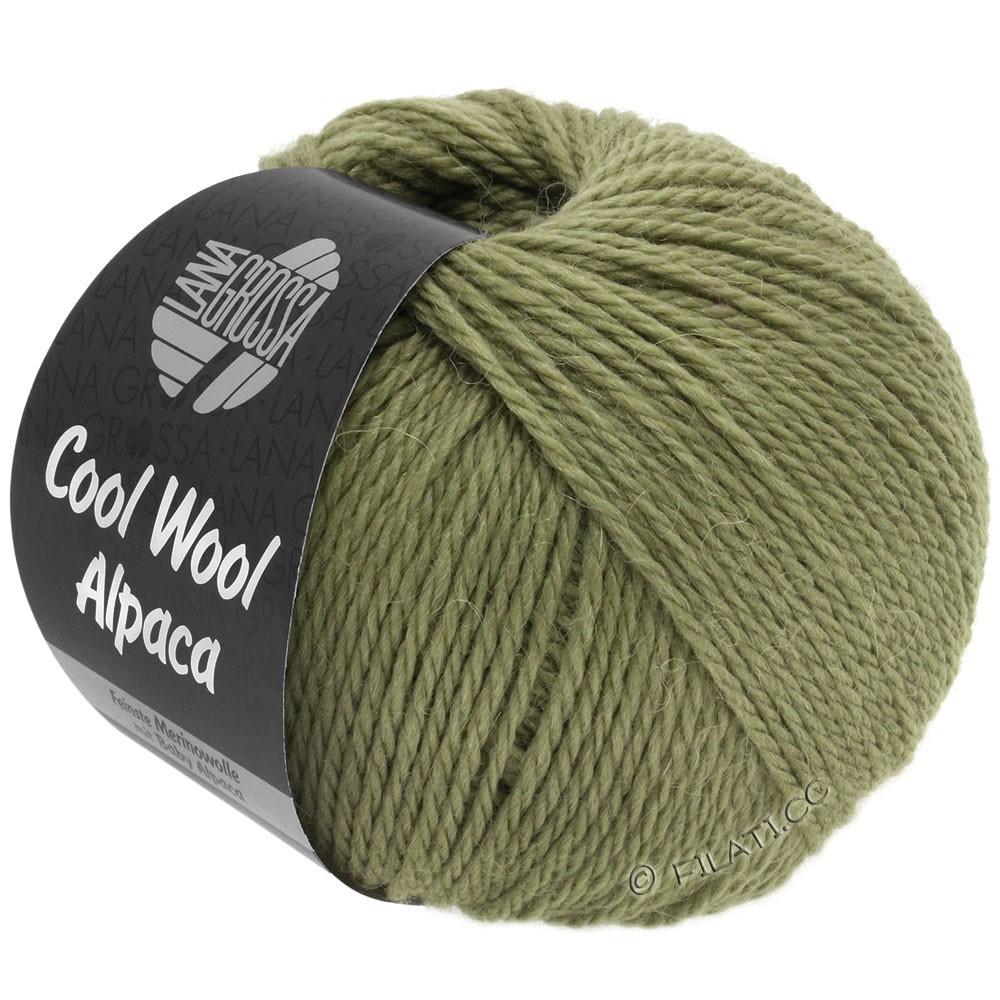 Lana Grossa COOL WOOL Alpaca | 29-vert foin