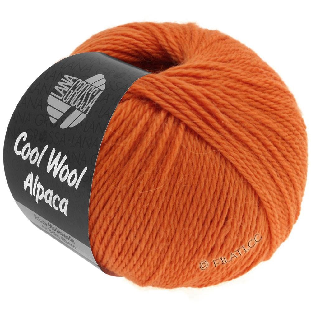 Lana Grossa COOL WOOL Alpaca | 31-orange