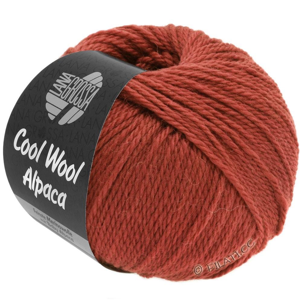 Lana Grossa COOL WOOL Alpaca | 33-rouge brique