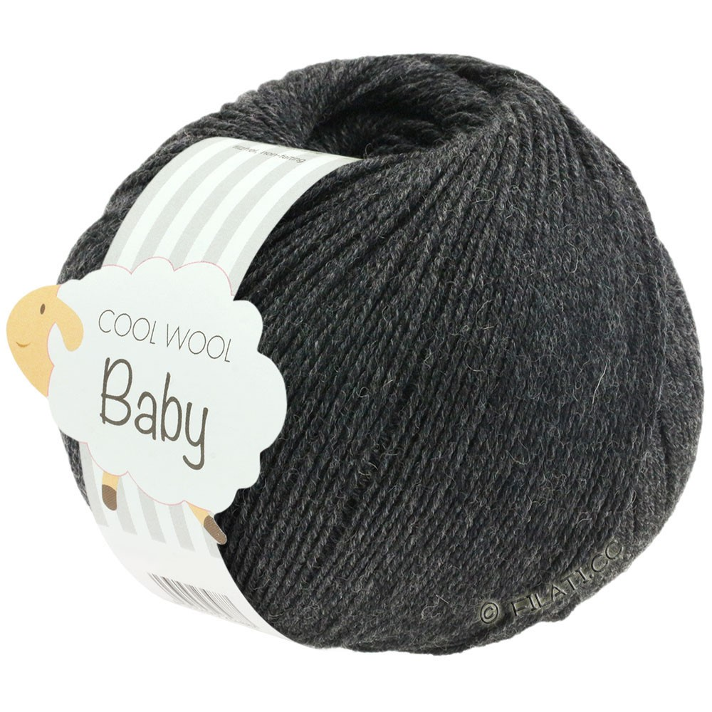 Lana Grossa COOL WOOL Baby | 205-anthracite