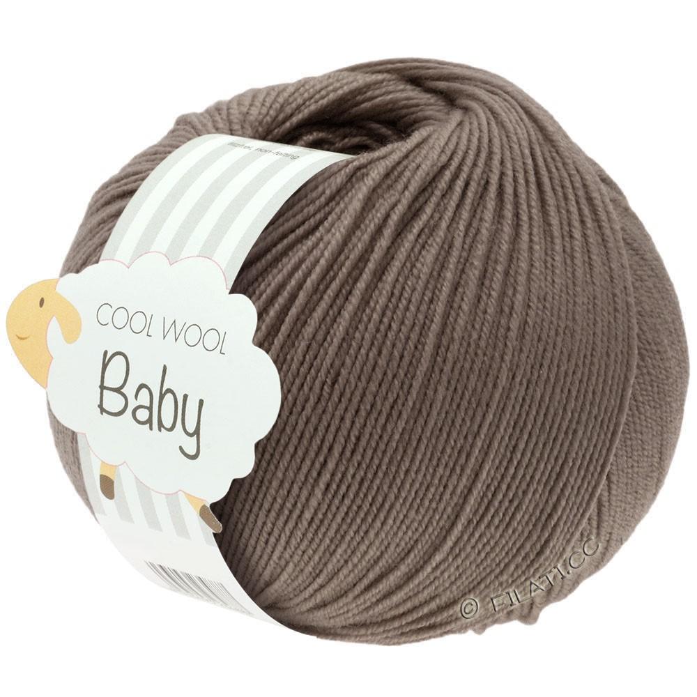 Lana Grossa COOL WOOL Baby | 211-brun gris