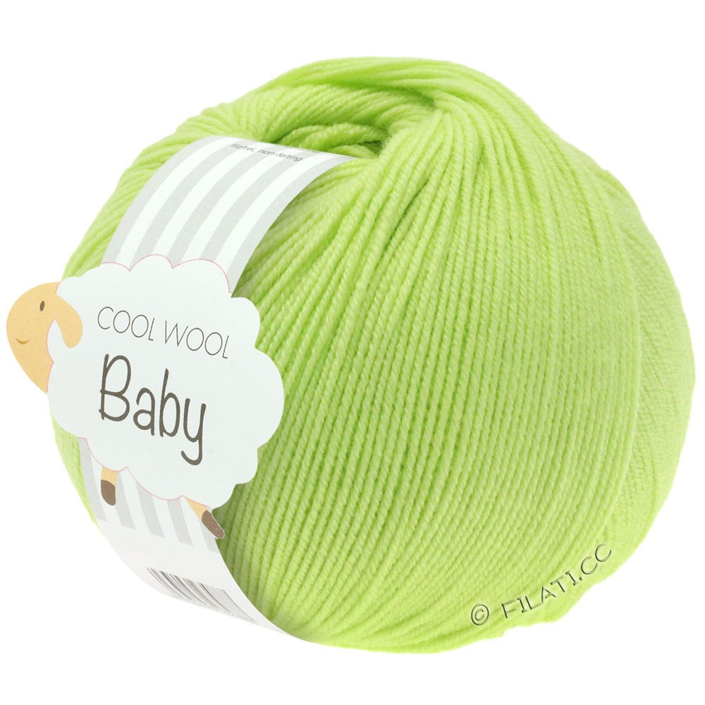 Lana Grossa COOL WOOL Baby | 228-citron vert