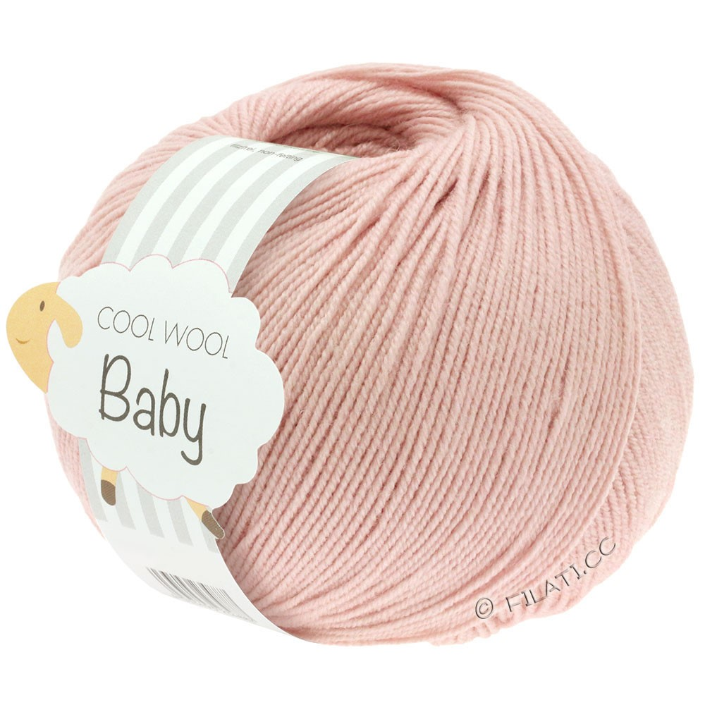 Lana Grossa COOL WOOL Baby | 246-rose poudré
