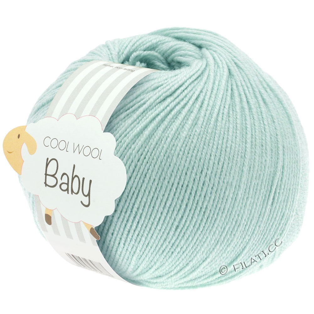 Lana Grossa COOL WOOL Baby | 257-vert tendre
