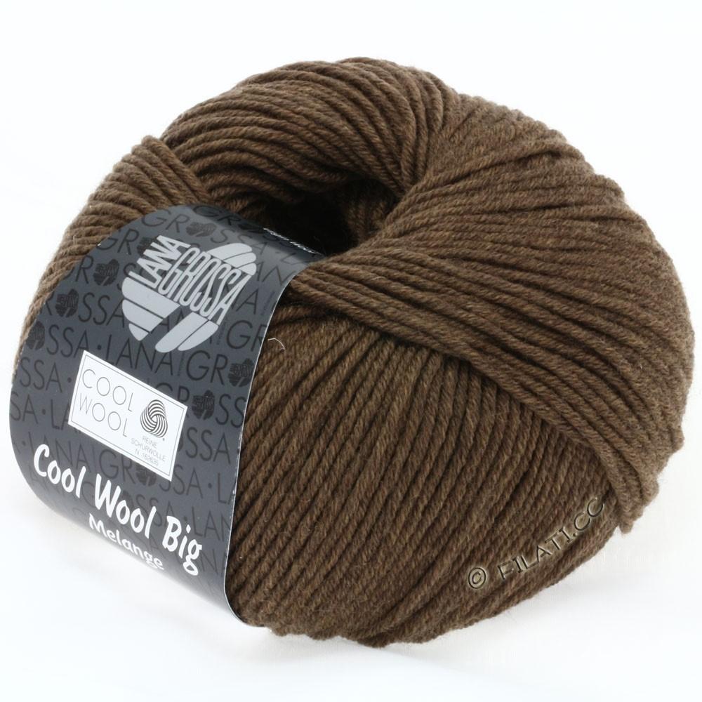 Lana Grossa COOL WOOL Big Uni/Melange/Print | 0318-brun gris chiné