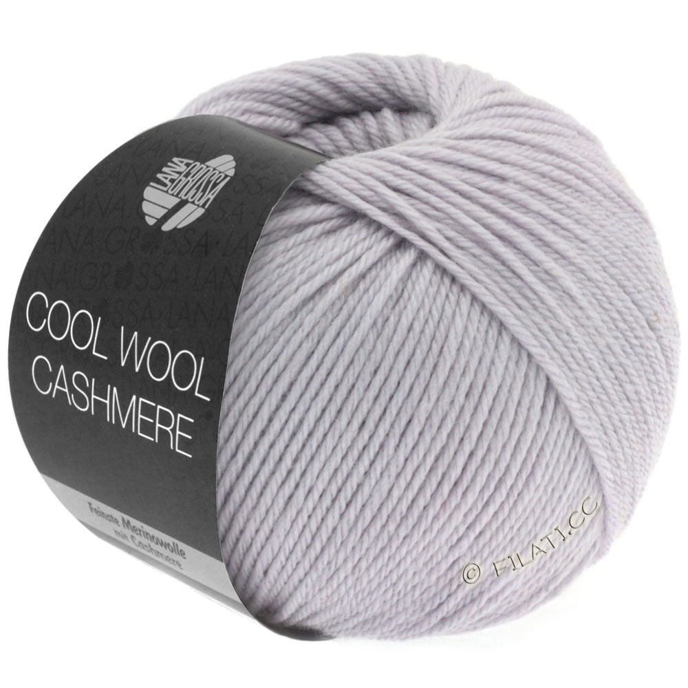 Lana Grossa COOL WOOL Cashmere | 01-pourpre tendre