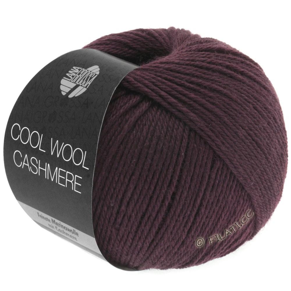 Lana Grossa COOL WOOL Cashmere | 04-brun foncé