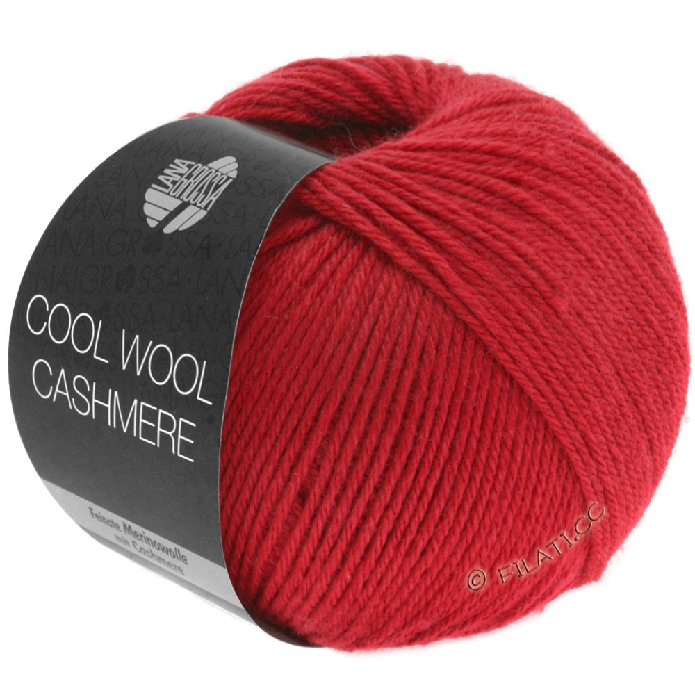 Lana Grossa COOL WOOL Cashmere | 05-rouge