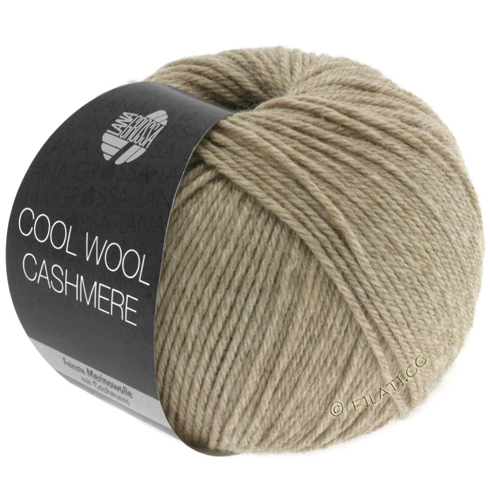 Lana Grossa COOL WOOL Cashmere | 06-taupe