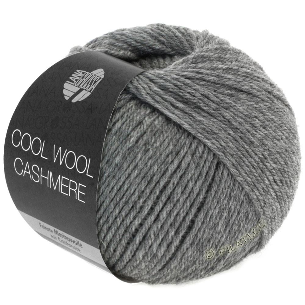 Lana Grossa COOL WOOL Cashmere | 07-gris foncé chiné