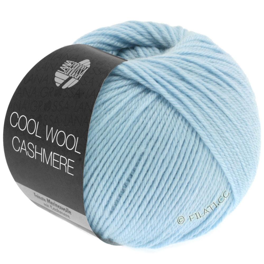Lana Grossa COOL WOOL Cashmere | 08-bleu clair