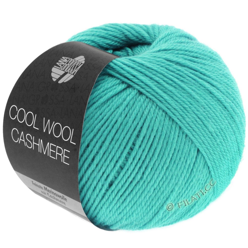 Lana Grossa COOL WOOL Cashmere | 09-turquoise
