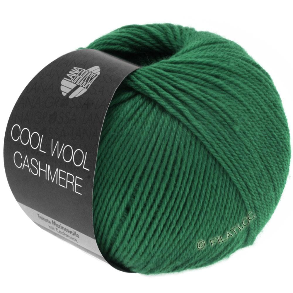 Lana Grossa COOL WOOL Cashmere | 10-vert foncé