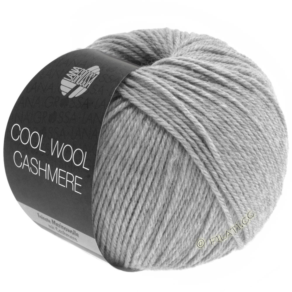 Lana Grossa COOL WOOL Cashmere | 13-gris clair chiné