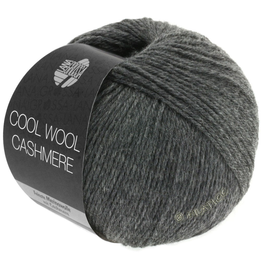 Lana Grossa COOL WOOL Cashmere | 14-anthracite