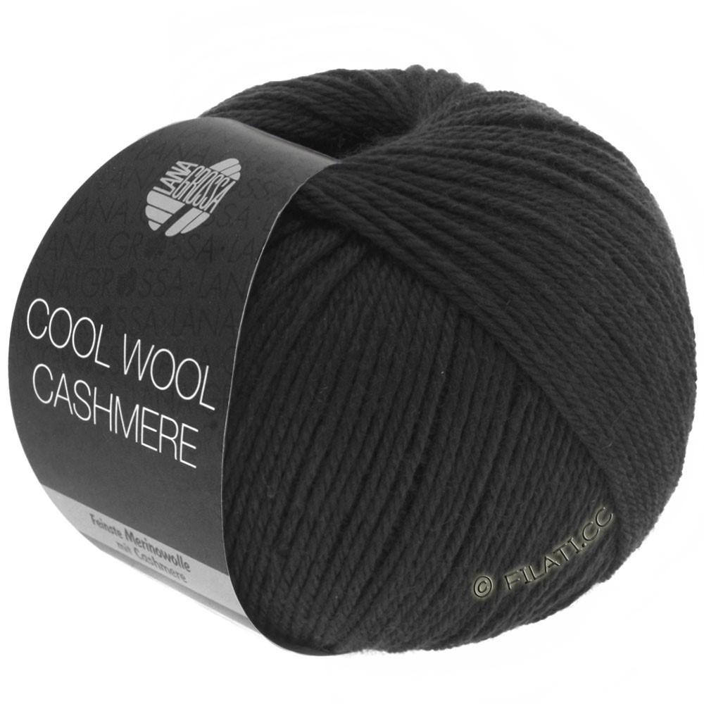 Lana Grossa COOL WOOL Cashmere | 15-noir